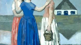 Pablo Picasso - Les trois Hollandaises (foto Musée Picasso/Centre Pompidou, Parijs)