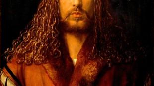 Albrecht Dürer - Selbstbildnis im Pelzrock (foto Alte Pinakothek, München)