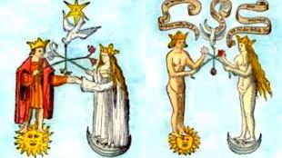 Alchemisch Huwelijk van Sol en Luna