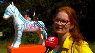 Hellen van Meene bij SBS Hart van Nederland