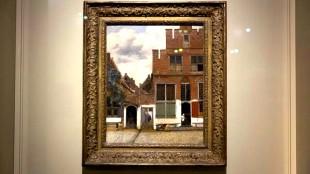Johannes Vermeer - Het straatje (foto ANP)