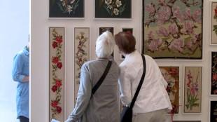 Publiek bij Scholte's Embroidery show (foto ARF/dAnielle's flow)