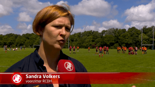 Sandra Volkers (voorzitter RCDH)
