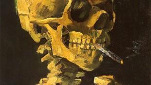 Vincent van Gogh - Skull with Cigarette