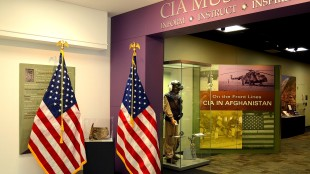 Flags in CIA Museum (Flickr/The Central Intelligence Agency)