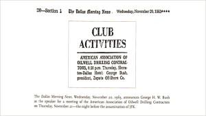 The Dallas Morning News, Wednesday, November 20, 1963