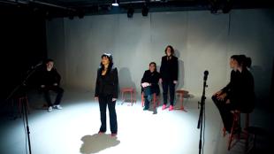 Toneelgroep Papaver - De jaren 20 (maart 2010, foto Sander Dijksman)