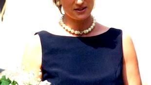 Diana, Princess of Wales while at The Leonardo Prize ceremony in 1995 (foto Nick Parfjonov)