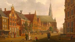 Izaak Ouwater - Nieuwstraat in Hoorn