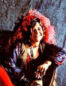 """Janis Joplin op de cover van """"Pearl"""""""