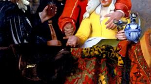 Johannes Vermeer - De koppelaarster