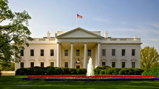 The White House Front View (foto Ask Ideas)