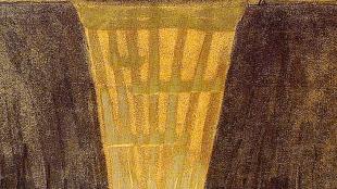 Mikalojus Konstantinas Čiurlionis - The sun is passing through the sign of Gemini