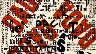 Theo van Doesburg - Affiche Dada Soirée