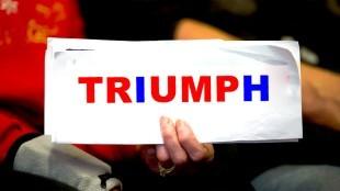 Triumph (foto The Daily Trump)