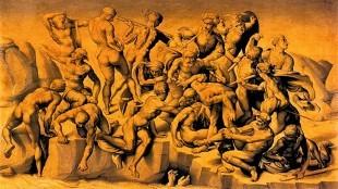 Aristotele da Sangallo – Kopie naar Michelangelo's De slag bij Cascina