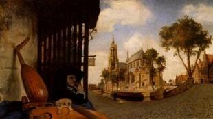 Carel Fabritius – Gezicht op Delft