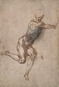 Michelangelo – Voorstudie voor De slag bij Cascina