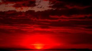 Red sky (foto Booknvolume)