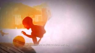 en ik vermoord zo'n 300 kinderen per dag (foto Aidsfonds/YouTube)