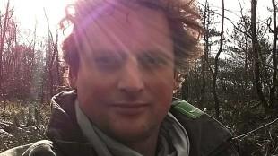 Boswachter Maarten Duinker (foto Staatsbosbeheer)