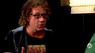 Hugo Kaagman bij Café Weltschmerz