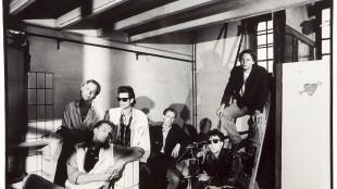 De Maximalen Frank Starik, Koos Dalstra (Dalstar), Arthur Lava, Pieter Boskma, Joost Zwagerman, René Huigen (foto Harry Meijer)