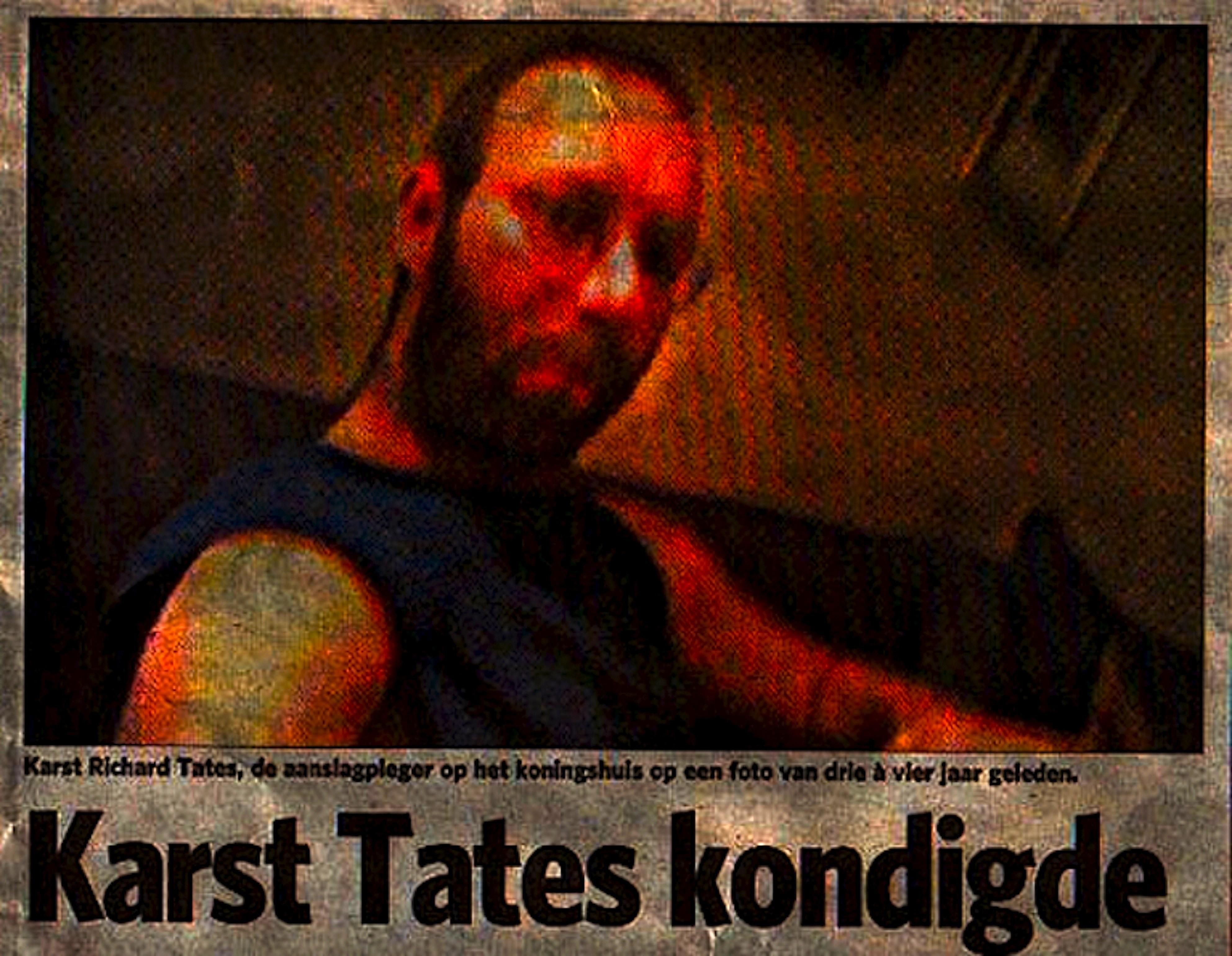 Karst Richard Tates, de aanslagpleger op het koningshuis (foto maxpam.nl)
