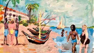 Peter Klashorst - Van Gogh in Gambia (foto beleefgambia.nl)