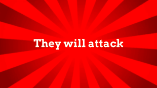 They will attack (foto YouTube)