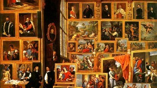 David Teniers the Younger - The Art Gallery of Archduke Leopold Wilhelm (foto Wikipedia)
