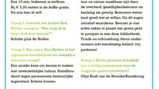 Den Helder Kust De Zee – Hoe gastvrij is… Toffe gastheer