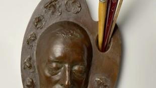 Han van Meegeren's death mask (foto Rijksmuseum Amsterdam)