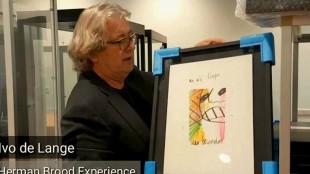 Ivo de Lange, initiator van de Herman Brood Experience in Zwolle (foto RTV Focus)