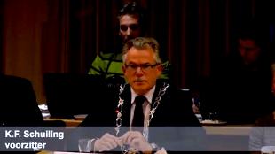 K.F. Schuiling voorzitter (foto Gemeente Den Helder)