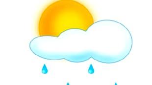 Llueve e sol