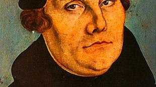 Lucas Cranach - Martin Luther (foto Uffizi)