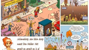 Martin Man – Sofietje's Helders Weekblad Cartoon-Chronicles (11): Julianadorp, een klein dorp naast Den Helder