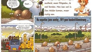 Martin Man – Sofietje's Helders Weekblad Cartoon-Chronicles (9): Toegangsweg N9