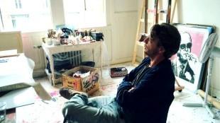 Michiel Folkers in his studio (foto accessart.co)