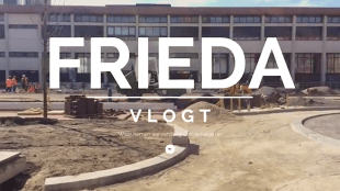 FRIEDA vlogt (foto YouTube)