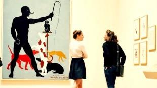 Francis Picabia - Dierentemmer (met publiek)
