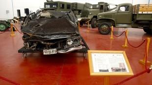 Hogar final del Dodge 3700 GT en el que murió Carrero Blanco (foto Alberto Ferreras)