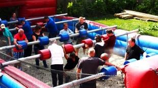 Levend tafelvoetbal (foto Holland Evenementen Groep)