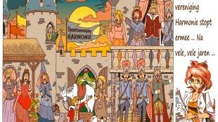 Martin Man – Sofietje's Helders Weekblad Cartoon-Chronicles (25): Operette-vereniging Harmonie stopt ermee...