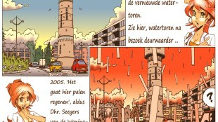 Martin Man – Sofietje's Helders Weekblad Cartoon-Chronicles (26): Problemen met de vernieuwde watertoren
