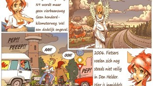 Martin Man – Sofietje's Helders Weekblad Cartoon-Chronicles (28): Nog meer verkeersveiligheid