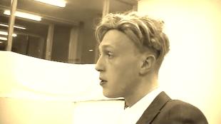 Nelle Boer als Christian Brod (foto YouTube)
