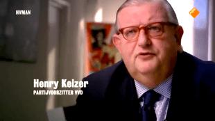 Partijvoorzitter VVD Henry Keizer (foto YouTube)