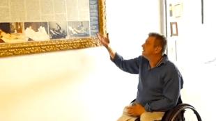 Rob Scholte bij Nostalgia (foto YouTube)